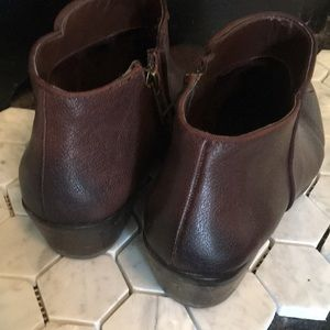 Sam Edelman Shoes - Sam Edelman brown leather ankle boots